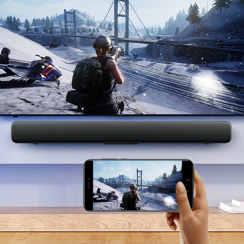 Image 3 - Original Xiaomi Mi Wireless TV Home Theater Speaker Audio Soundbar SPDIF Optical Aux Line Sound Bar Support Xiaomi Samsung LG TVSoundbar   -