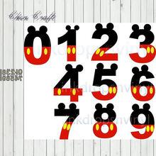 Металлические штампы с арабскими цифрами трафареты вырезанные
