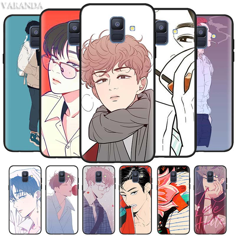 Love or Hate Boy Cases for Samsung Galaxy J8 J6 J4 Plus A9 A7 A8 A6 2018 M40 M20 M10 M30 S Black Silicone Soft Coque