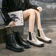 Женские ботинки martin осень 2020 из искусственной кожи женские