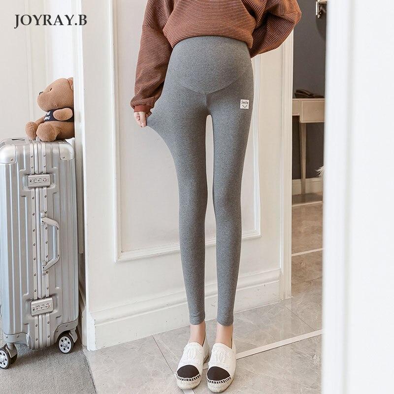 Pregnant Women Pants Winter Slim Thin Leggings Spring Autumn Stomach Lift Pants Pregnancy Pants Winter Pants Maternity JOYRAY.B