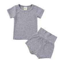 Летняя одежда для малышей; Одежда новорожденных; маленьких мальчиков