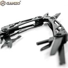 ガンゾG202B multitoolsセット折りたたみプライヤー釣りキャンプサバイバルedcビットギアポケットナイフプライヤーワイヤーカッターマルチツール
