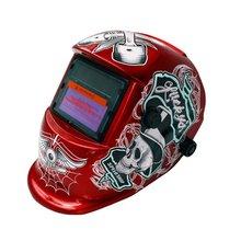 Автоматическая переменная фотоэлектрическая Сварочная маска Сварщик Сварка аргоновая дуговая сварка защитная Рабочая защита экрана