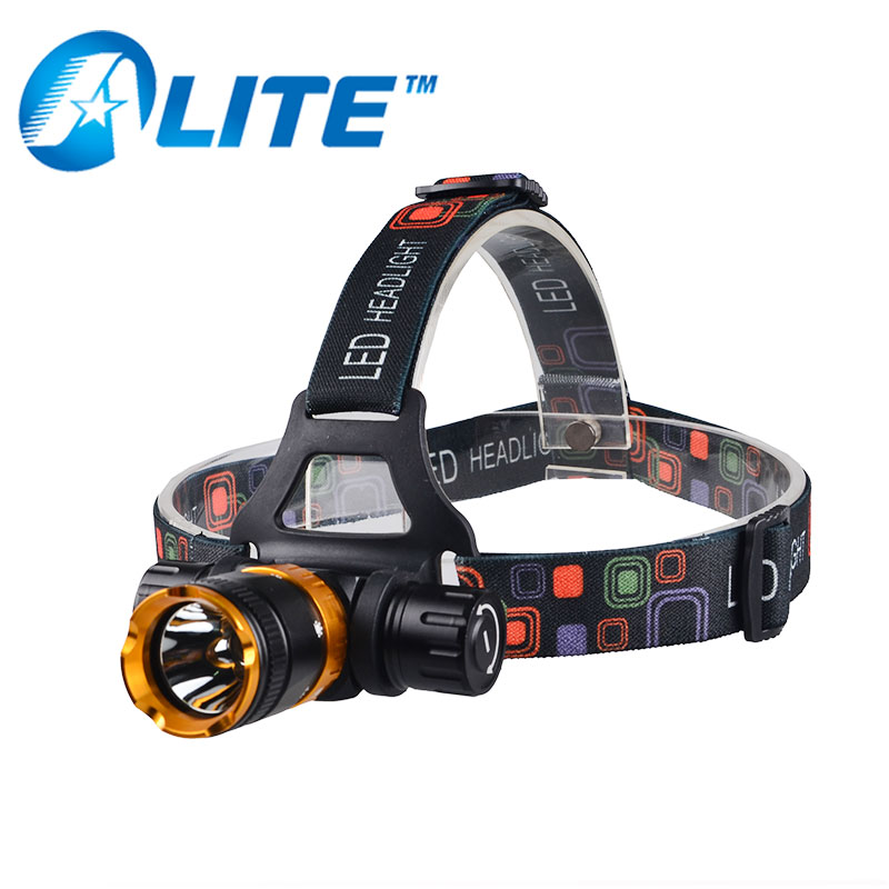 <font><b>2000</b></font> Lumens Waterproof IP68 Diving Headlight XML T6 LED Underwater more than <font><b>50</b></font> meters 5 modes Headlamp Emergency function SOS image