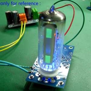 Image 1 - LEORY 6E2 أنبوب مكبر للصوت مجلس الصوت VU مستوى الطاقة لوحة للقيادة مؤشر حجم الصفراء Preamp فراغ لهجة إشارة لتقوم بها بنفسك عدة