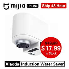 Xiaoda Zajia Induction économiseur deau Intelligent infrarouge Induction robinet deau Anti débordement tête pivotante économie deau buse robinet