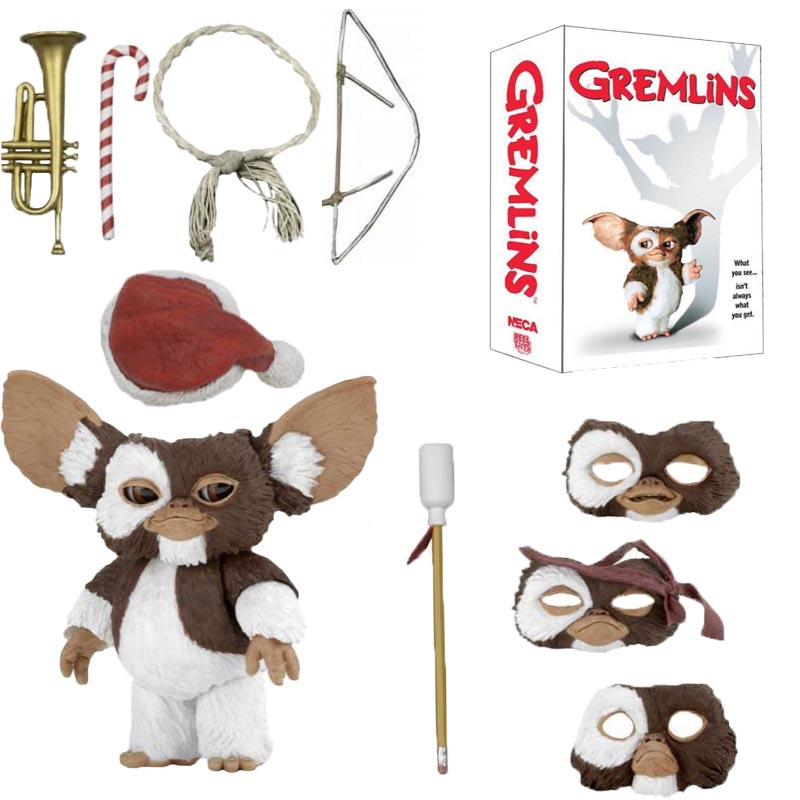 7.2inch 18cm Original NECA New Movie Gremlins Christmas Edition Gremlins Action Figure Collectable Model Toy