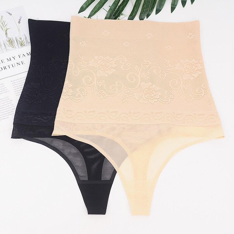 High Waist Trainer Panties Body Shapers Women Slimming Shapewear Thongs Butt Lifter Tummy Control Underwear Panty Girdles
