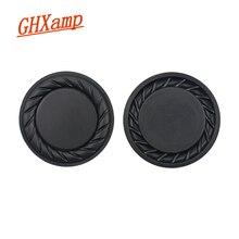GHXAMP 2,5 дюйма 65 мм басовый радиатор, вибрационная пластина, диафрагма, низкочастотный вспомогательный сабвуфер для зарядки 2 plus DIY 2 шт.