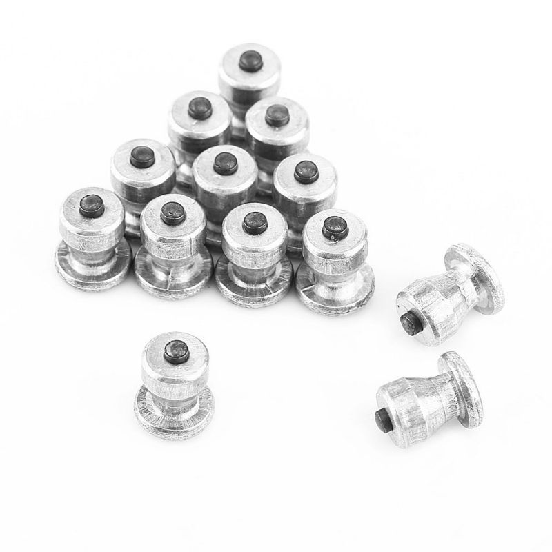 Hot 100Pcs 8mm Winter Wheel Lugs Car Tires Studs Screw Snow Spikes Wheel Tyre Snow Chains Studs For Car Motorcycle Tire