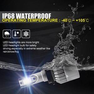 Image 3 - Ampoules pour voitures, phares de voiture, étanches IP68 CSP LED k 6000 DC 12V 24V LED degrés 9200LM, 2 pièces, 55W D2S D2C D2R D4S D4C D4R