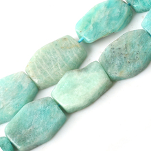 Wholesale Natural Gem Stone AAA+ Grade Amazonite Flat Square 10*20mm Beads For Jewelry Making DIY Bracelet Necklace Earrings