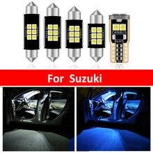 8 шт автомобилей Белый внутренний светодиодный светильник лампы