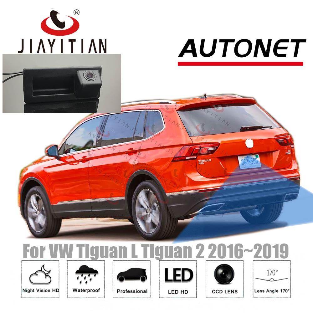 JIAYITIAN Rear View Camera For VW Tiguan AD1 Tiguan Sport 2016 2017 2018 2019 2020 Backup Camera Parking Trunk Handle Camera