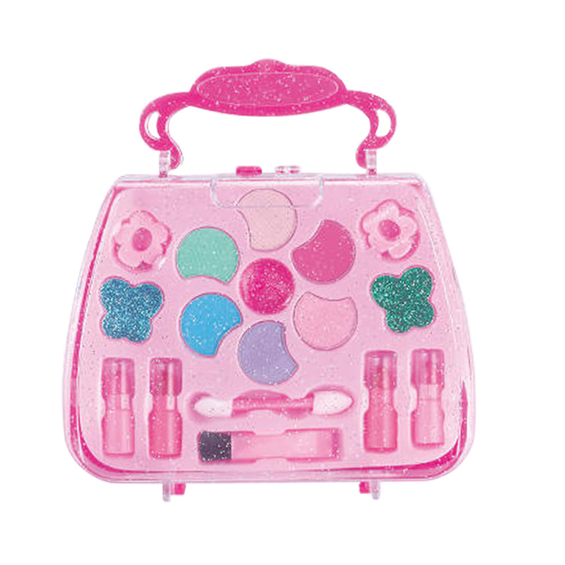 1Pcs Girl Pretend Princess Makeup Box Toys For Kids Make-Up Girls Traveling Cosmetic Toy Suit For Children Birthday Gift CL5639