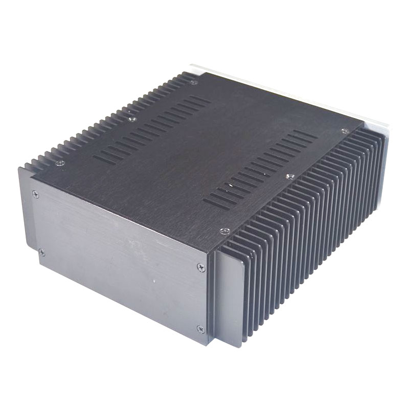 KYYSLB 260*230*90MM DIY Box Amplifier Case Enclosure WA135 Brushed Aluminum Non-porous Class A Power Amplifier Chassis Shell