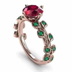 New Design Vintage Female Ruby