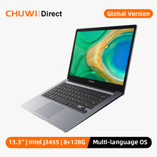 CHUWI HeroBook Pro + 13.3 inç 3200*1800 ekran Intel Celeron J3455 işlemci LPDDR4 8GB 128GB EMMC windows 10 dizüstü BT5.0