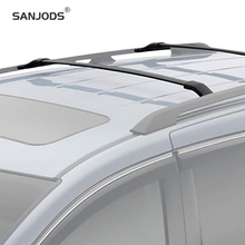 SANJODS Car Roof Rack Aluminum Bolt-On Top Rail Roof Rack Cross Bar Luggage Carrier Replacement For Honda Odyssey 11-17 sanjods car roof rack pair roof rack top rail aluminum cross bar replacement for toyota rav4 adventure 2019 2020