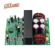 GHXAMP 400W + 400W HIFI IRS2092 płyta wzmacniacza wysokie zasilanie solarne do użytku domowego moc dźwięku wzmacniacz częstotliwość 500KHZ zasilacz podwójny 60V