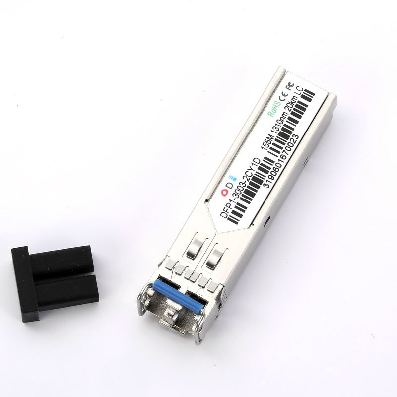 OEM&ODM 155m 1310nm 20km SFP Compatible Optical ModuleTransition Networks SFP Transceiver