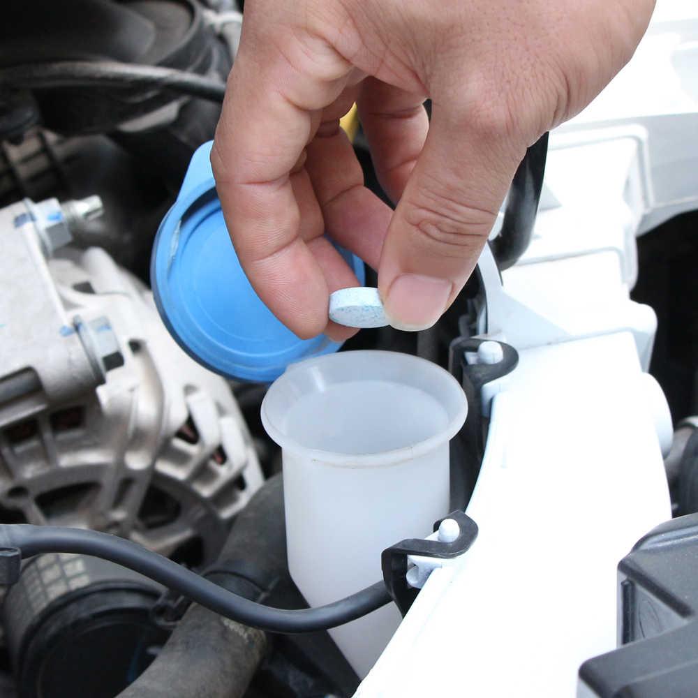 1 pièces = 4L voiture pare-brise nettoyage verre pour Nissan 370z honda grom mercedes benz bmw x3 mini cooper s r56 ford emblème bmw keychai