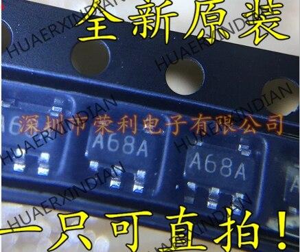 10 pièces Nouvelles LMH6645MFX SOT23-5 A68A LMH6645MF En stock