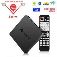 DEALDIG BOXD6 TV Box Android 7.1 3GB DDR4 32GB Amlogic S912 octa core 2.4G/5G Wifi Set Top Box 1000M 4K BT4.0 Media Player