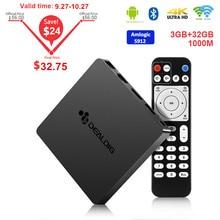 DEALDIG BOXD6 TV Box Android 7.1 3GB DDR