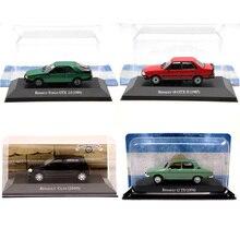 IXO Altaya 1:43 Renault 18/12/Fuego GTX/Clio Diecast modelleri sınırlı sayıda koleksiyonu oyuncak araba minyatür