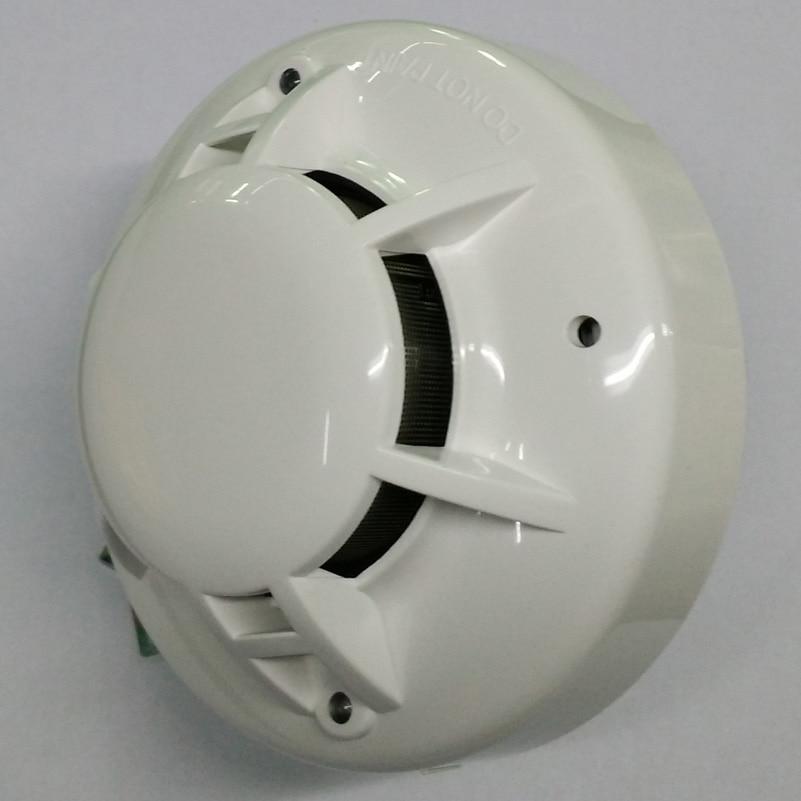 2 Wire Smoke Sensor Optical Cigarette Smoke Alarm  Fire Alarm Control System  Conventional Photoelectric Smoke Detector