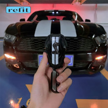 Car Key Protective Shell Poison Blade Shell For 15 17 Ford Mustang Shelby GT500 Mech Key case