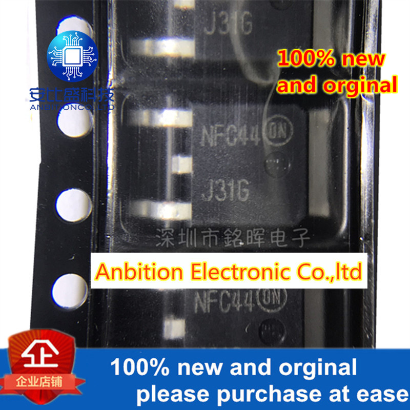 10pcs 100% New And Orgianl MJD31T4G MJD31 J31G TO252 3A 40V 15W NPN In Stock
