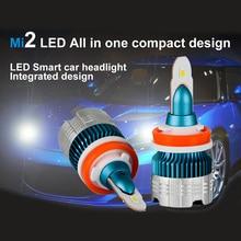 цена на H7 LED H4 H1 H3 H8 H9 H11 9005 9006 HB4 Flip Chips Car Led Headlight 6000k white Auto Fog light Headlamp Bulb Car Styling 50W