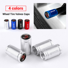 Sticker Tire-Valve-Caps Cooper Mini BMW Accessorie Wheel S-Emblem for R50 R52/R53/R56/..