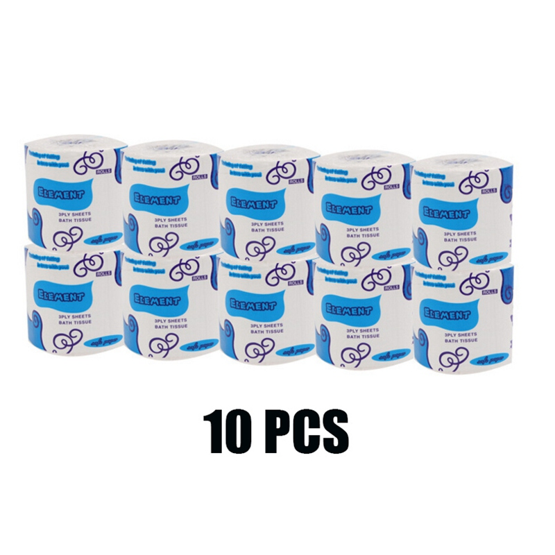 1/10PCS Toilet Paper Disposable Portable Facial Tissue Health Cotton Roll Paper Face Cleaning Paper Towel Tissue