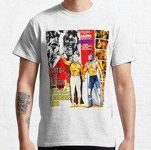 Camiseta de Santo y demonio azul para Hombre y mujer, camisetas de Dr % C3 % A1cula y el Hombre