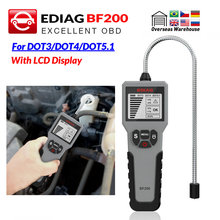 EDIAG Car Brake Fluid Tester BF100 BF200 for DOT 3 DOT4 DOT5.1 High resolution LCD Display Accurate Oil Quality Check Tester