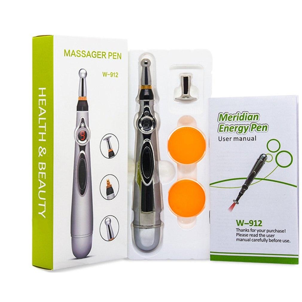 Body Health Equipment Electric Pulse Acupuncture Pen Meridian Pen Automatic Probe Point Instrument Massage Point Pen