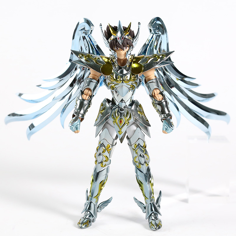 Great Toys GT Pegasus Saint Seiya V4 Version God Cloth EX Metal Armor Bronze Action Figure Toy Limited Edition