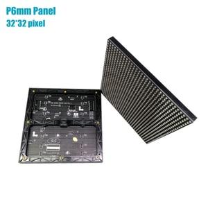 Image 4 - Panel de pantalla Led P6 para interiores, a todo Color, 3 en 1, 192x192mm, pantalla HD, matriz de puntos de 32x32, módulo Led P6 SMD RGB