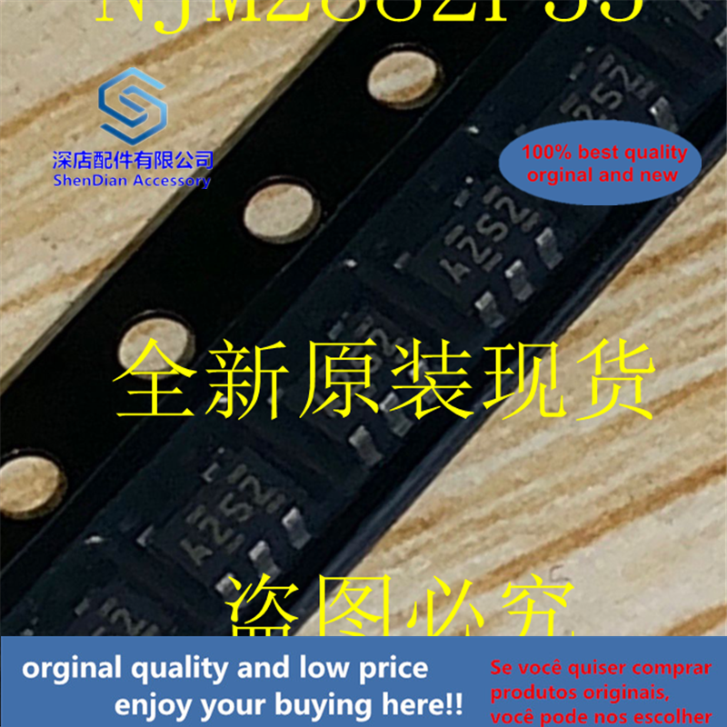 20pcs 100% Orginal And New NJM2882F33-TE1 JRC SOT23-5 Silk-screen A252 A2S2 Best Qualtiy