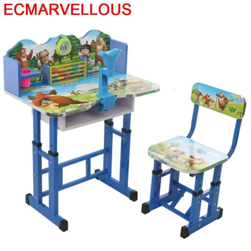 Tavolo Per Bambini Baby Escritorio Toddler Silla Y Infantiles Adjustable Bureau Enfant For Mesa Infantil Kids Study Table