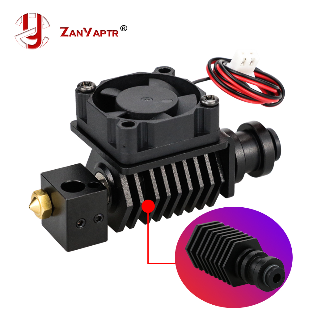 3D Printer BP6 Hotend Kit J-head Extruder Parts 0.4mm 1.75mm Nozzle High Temp And Low Temp Replace V6 Accessories
