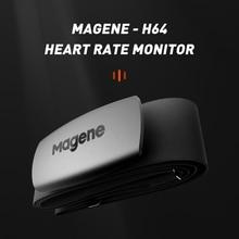Magene חדש דגם H64 Bluetooth4.0 ANT + קצב לב חיישן תואם GARMIN Bryton IGPSPORT מחשב ריצת אופני צג