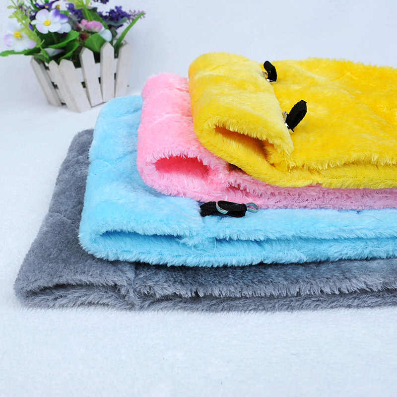 Miękki pluszowy Snuggle wisząca jaskinia papuga zabawkowa huśtawka klatka hamak zwierzę domowe łóżko piętrowe