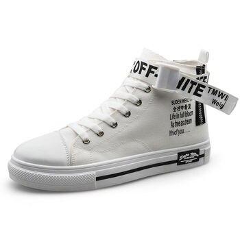 Brand Men Vulcanize Shoes Fashion Women Casual Shoes Breathable White Sneakers Soft Men Canvas Shoes Leisure Shoes