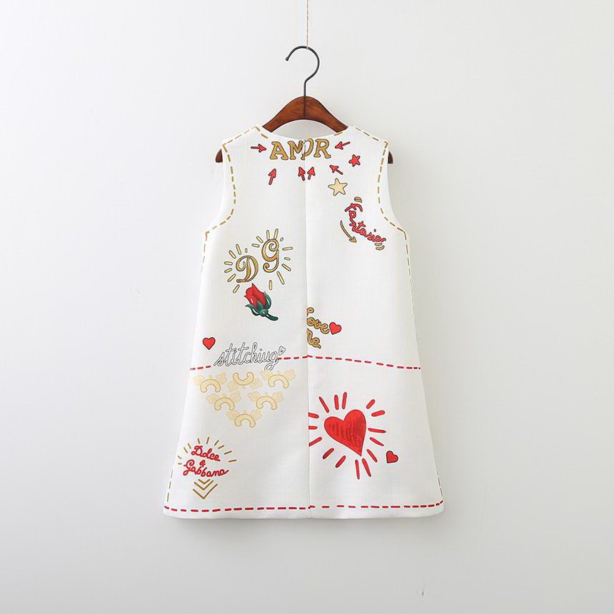 143-12-Girls Flower Princess Sundress