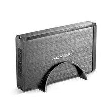 Acasis HDD 케이스 U 자형 브래킷 알루미늄 합금 USB 3.0 하드 디스크 드라이브 인클로저 2.5 인치 3.5 인치 HDD 케이스 상자 4 테라바이트